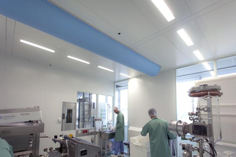 biotechnologie cleanroom 2e verdieping