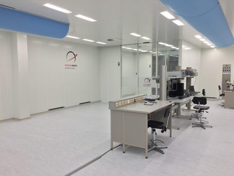 Antwerp Space ISO7 cleanroom