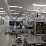 Eerste cleanroom Scholle IPN, demontabel systeem