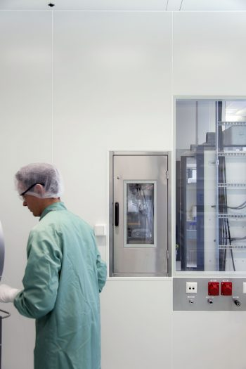 Cleanroom voor biotechnologie, doorgeefkast, GMP
