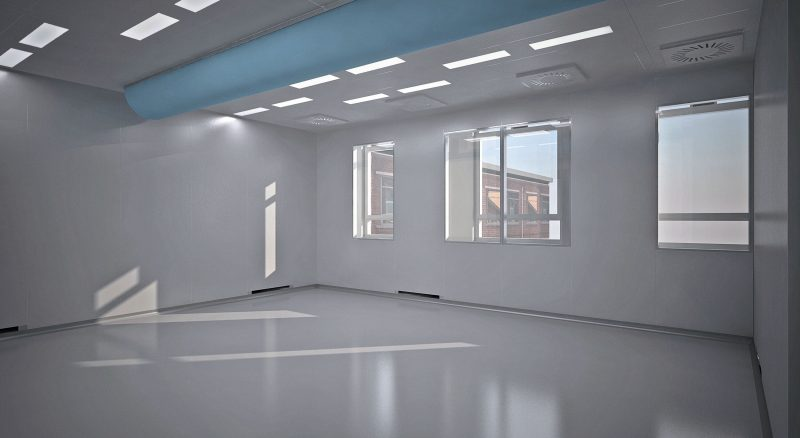Antwerp Cleanroom, 3D tekening