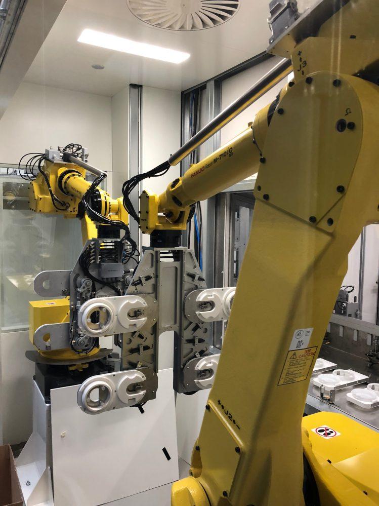 cleanroom en robotisering