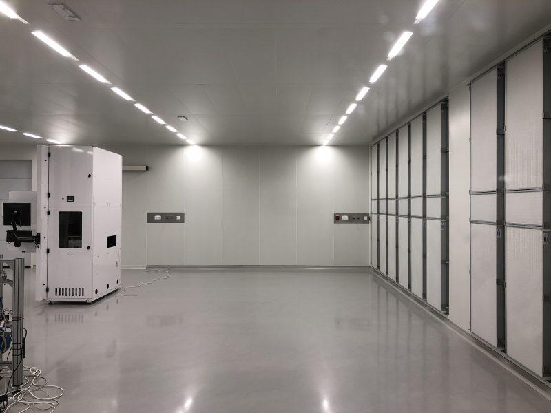 cleanroom_Rotterdam_ISO5_laminair_flow