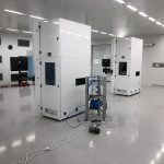 twee units in cleanroom