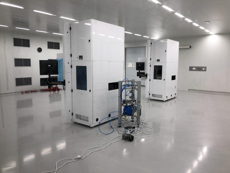 Nanotechnologie ISO5 cleanroom HIGHCARE