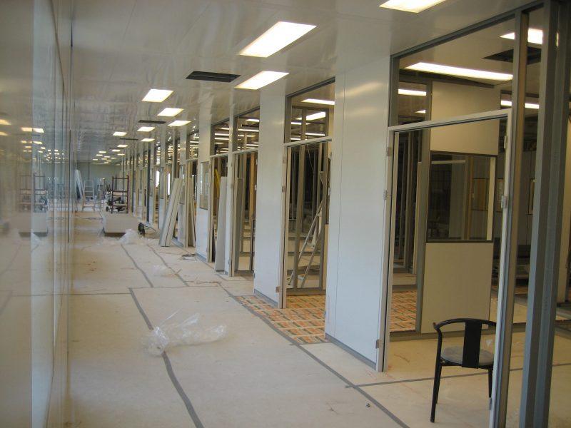 Cleanroom bouwpakket