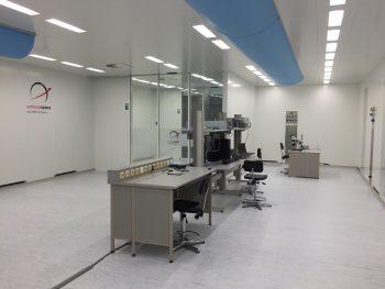 cleanroom Antwerp Space brede airsock
