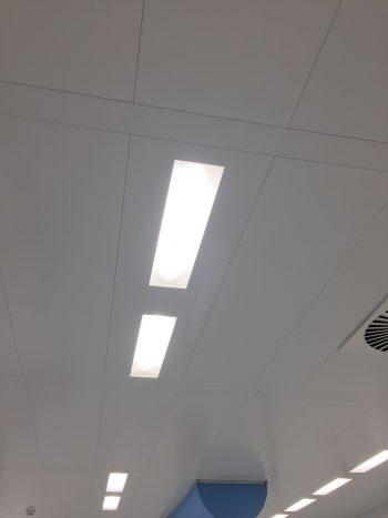 cleanroom Antwerpen Space led verlichting ISO7