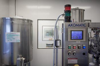 cleanroom compacte productieruimte met veel glas