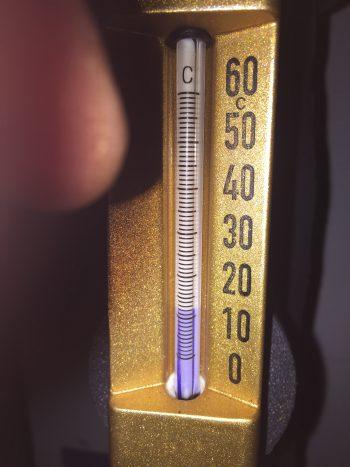 cleanroom invochten tussen de º6-12ºC