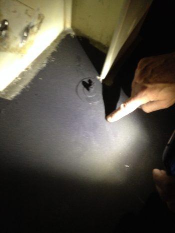 cleanroom esd granietlaag met aardpunt