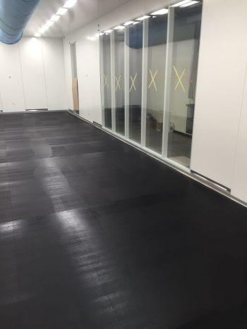 cleanroom esd ondervloer grafietlaag voor geleiding