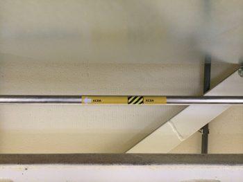 XCDA via naadloos leidingnet, stroomrichting