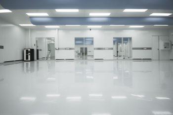 cleanroom ISO6 met esd vloerbedekking (anti statisch)