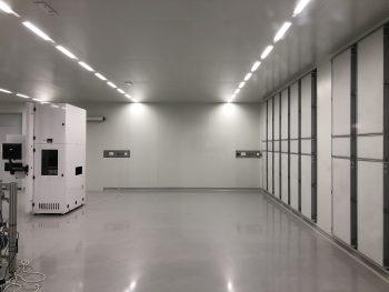 cleanroom HEPA's certificering ISO5