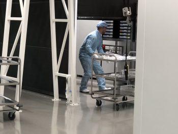 cleanroom donkere kamer ISO7