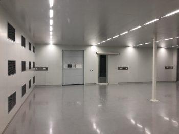 cleanroom plafond metaal demontabel systeem klasse ISO5