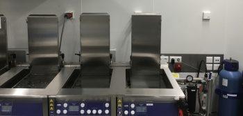 cleanrooms ultrasoonreinigen voor ASML